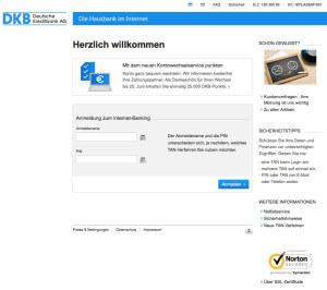 Die DKB überzeugte im Girokonto-Test durch ein sehr gutes Online-Banking-Terminal